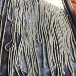 Hand rolled pasta!