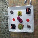 Pancho's - Exquisite dessert platter!