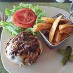 Burger at Krystal