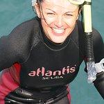 Happy Dolphin Swimmer, tears of joy