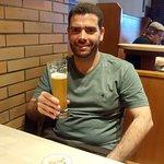 Cerveja da casa - excelente!