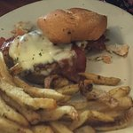 The Grilled Chicken Sandwich with homecut fries.