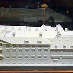 """Maquette de l'ensemble du """"palais Plantin"""""""