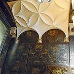 Chambre des correcteurs: décoration du mur et du plafond