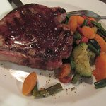 Yummy...my Pork Porterhouse