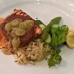 Marie Marie's - Salmon fillet with grape marmalade