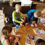 Shark tooth necklace making