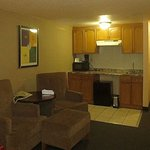 Big room with kitchenette