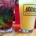 mojito and beer