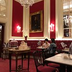 Our Sacher dining room