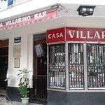 Fachada da casa Villarino.