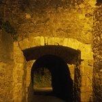 à noite no Castelo