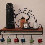 Espaço do cafezinho
