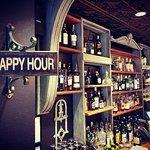 Happy Hour M-F from 3-6pm! $4 Stella, $5 Chard/Cab, $6 Bathtub Gin & Lemonade, half off popcorn!