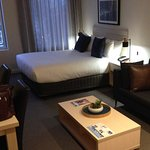 Large room, comfortable bed... better than Double Tree!!