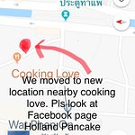 Restaurant has moved to new location pls search in facebook page Holland Pancake House
