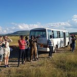 Game viewing in Akagera National Park
