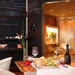 Das Restaurant Esszimmer im 25hours Hotel Number One.