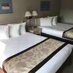We slept well in comfy queen beds