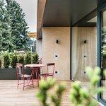 Eden Junior Suite terrace and garden