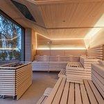 Liberty Spa: panoramic sauna