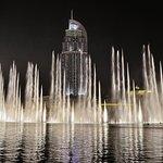 迪拜喷泉照片