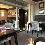 Trendy dining room