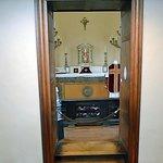 Palier du grand escalier d'honneur: la chapelle