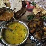 Homemade Thaali