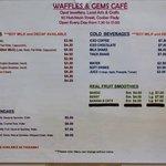 Waffles & Gems Cafe, Coober Pedy