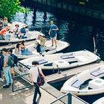 Sloepdelen boats in Utrecht