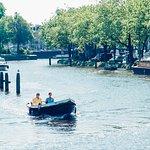 Lovely boat ride in Amsterdam