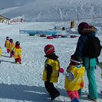 Accompagnement des enfants au jardin d'enfants