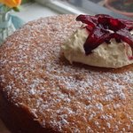 Wild Hibiscus Raspberry and Disaronno cake x