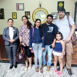 Happy Guest Mr.Nebendu and family.