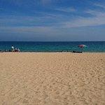 山水沙灘照片