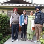 Happy Guests Mr.Sukhwinder Singh & family.