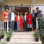 Happy guests Mr.Bhiku Apparao and family.