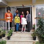 Happy guests Mukesh Gupta & family.