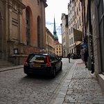 斯德哥尔摩古城照片