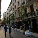 Streets leading into Plaza Mayor