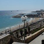 вид на порт с балкона