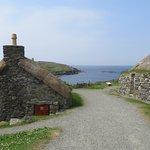 Blackhouses and sea