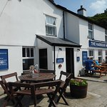 The Harbour Inn is on Solva harbour and beside the river.