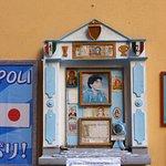 Diego Maradona'a altar