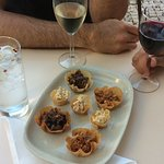 Happy Hour at our terrace. Drinks and tapas
