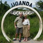 At one of the equator crossings