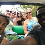 Tan Tan Jeep Tour Selfie with Kendall, our driver!