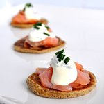 Canapes and finger menu's available