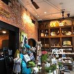 The interior of Ginger & Baker - lovely little shop at the entrance